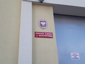 Wyjazd do Zakładu Karnego w Wadowicach.